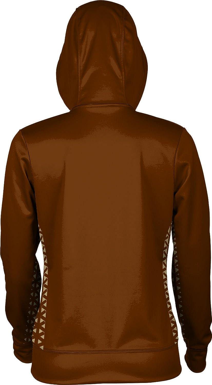 Geo ProSphere Western Michigan University Girls Zipper Hoodie School Spirit Sweatshirt