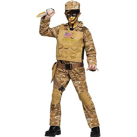 Fun World Navy Seal Boys Costume Medium (8-10)  sc 1 st  Amazon.com & Amazon.com: Fun World Navy Seal Boys Costume Medium (8-10): Toys u0026 Games