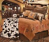 Cowboy Branded Western Bedding Set King