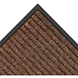 NoTrax 109 Brush Step Entrance Mat, for Lobbies and Indoor Entranceways, 2' Width x 3' Length x 3/8