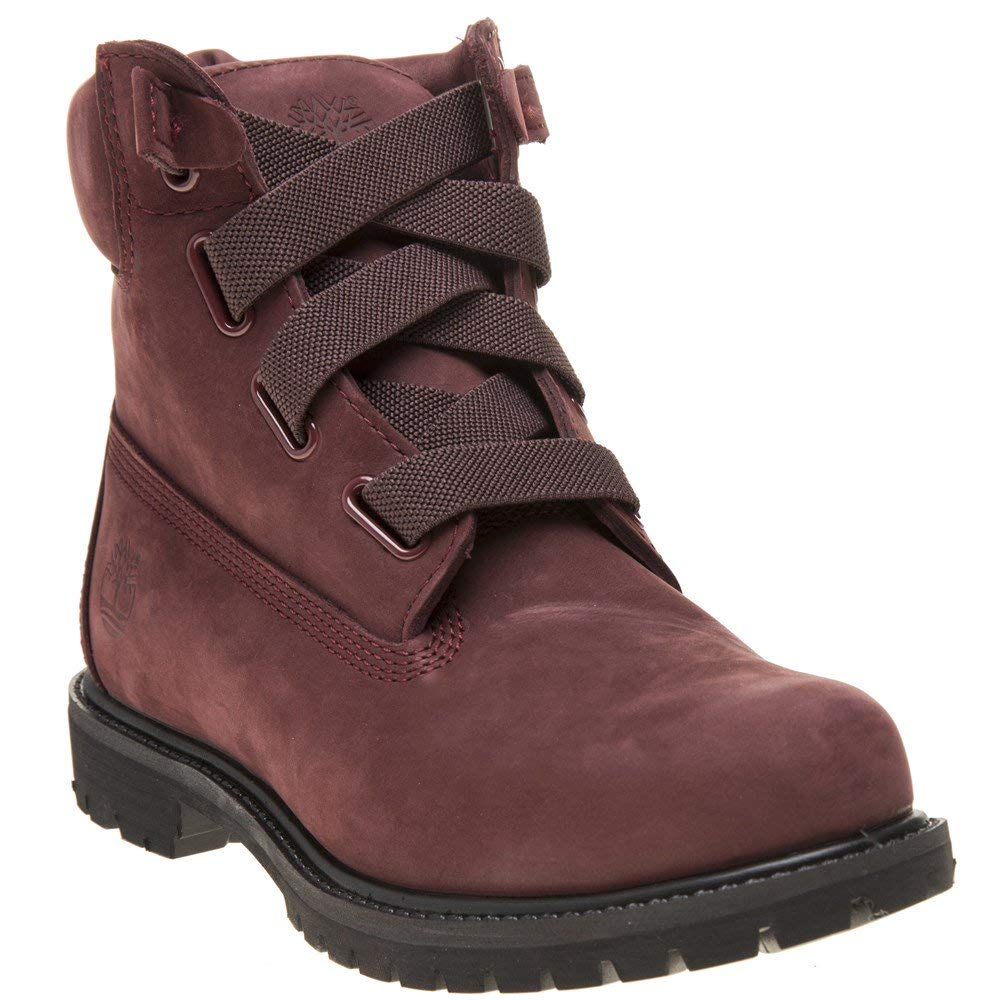 Timberland 6 Inch Premium Pull On Damen Stiefel Dunkel Rot