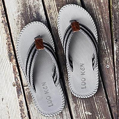 @Sandals Chaussons, Tongs, Chaussures De Plage D'Été, Pied D'Antidérapage, Mode Pantoufles.