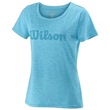 WILSON Damen Script Cotton Tee Women T-Shirts