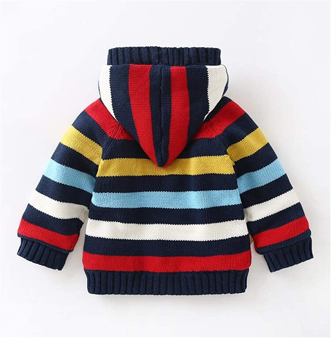 Pandapang Girl Cute Fashion Sweater Coat Hooded Boys Fleece Cardigans