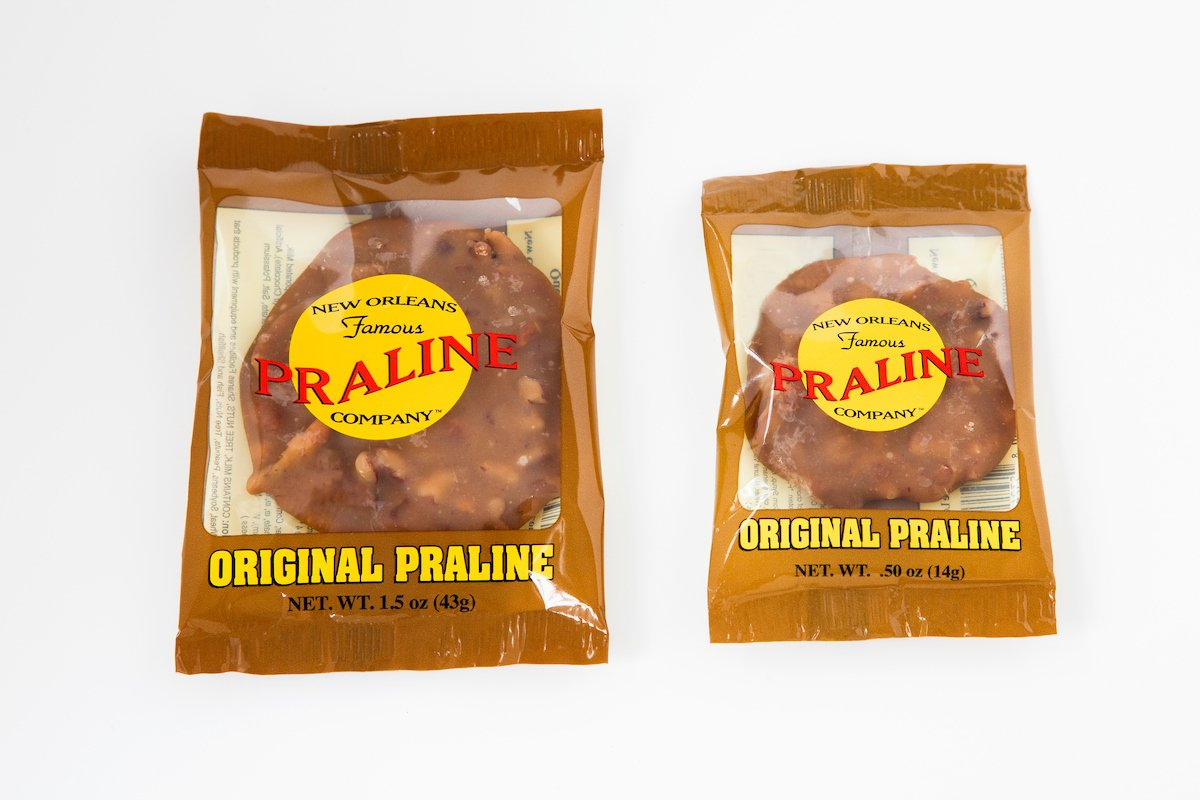 Small Praline (0.50oz) 100 Pack! by New Orleans Famous Praline Company