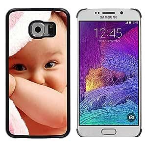 iKiki Tech / Estuche rígido - Cute baby boy - Samsung Galaxy S6 EDGE SM-G925