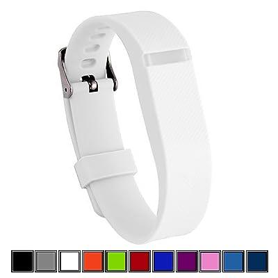 DELTEX® Bracelet de rechange avec fermoir à boucle ajustable sûre pour Fitbit, pour suivi activités.