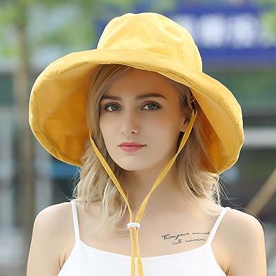 YANGFEIFEI-MZ chapeau d'été plier parasol hat/plage hat/tissu hat/chapeau de pêcheur