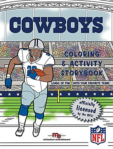 dallas cowboys coloring amp activity storybook association