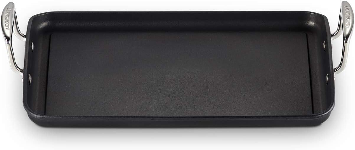 Le Creuset Toughened Non-Stick Flat Rectangular Grill 35 cm