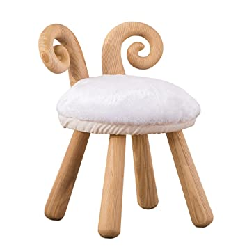 Hocker Einfache Holzerne Sheepstool Banke Kreative Kinderschuhe