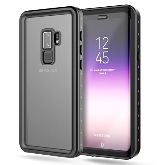 brand new 3c459 f23ab FugouSell Galaxy S9 Plus Waterproof Case, Full Sealed IP68 Snowproof  Dustproof Shockproof Heavy Duty Protection Underwater Case with Screen ...
