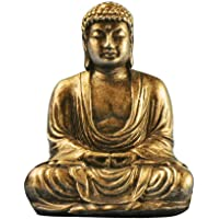 NANAD Mini Statua di Buddha in Resina Sintetica, Decorazione per la casa, Harmony innovativa e squisita Statua di Buddha, 7 cm x 5 cm x 3,5 cm