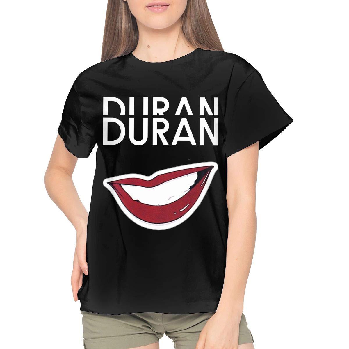 Duran Duran T Shirt Fashion Sports Casual Tops Round Neck Short Sleeve Tees