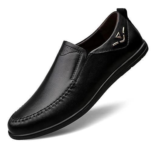 585530d5c3 Primavera Y Verano Zapatos De Guisantes Casuales Zapatos De Hombre Huecos  Zapatos De Conducción  Amazon.es  Zapatos y complementos