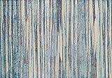 Super Area Rugs Colorful Multi Colored Striped Modern Alba Carpet, 8X10