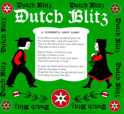 Dutch Blitz Card Game Amazon De Spielzeug