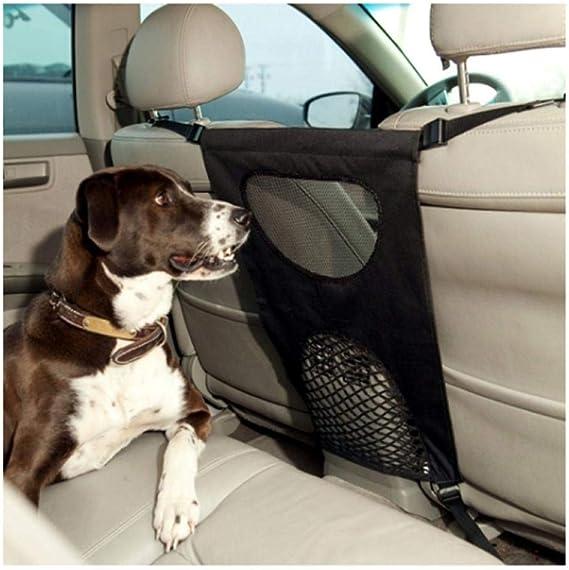Xxymcb Hundebarriere Haustier Hund Auto Barriere Sitz Mesh Hindernis Tuch Hunde Rücksitz Barrieren Um Den Fahrer Sicher Zu Halten Haustier