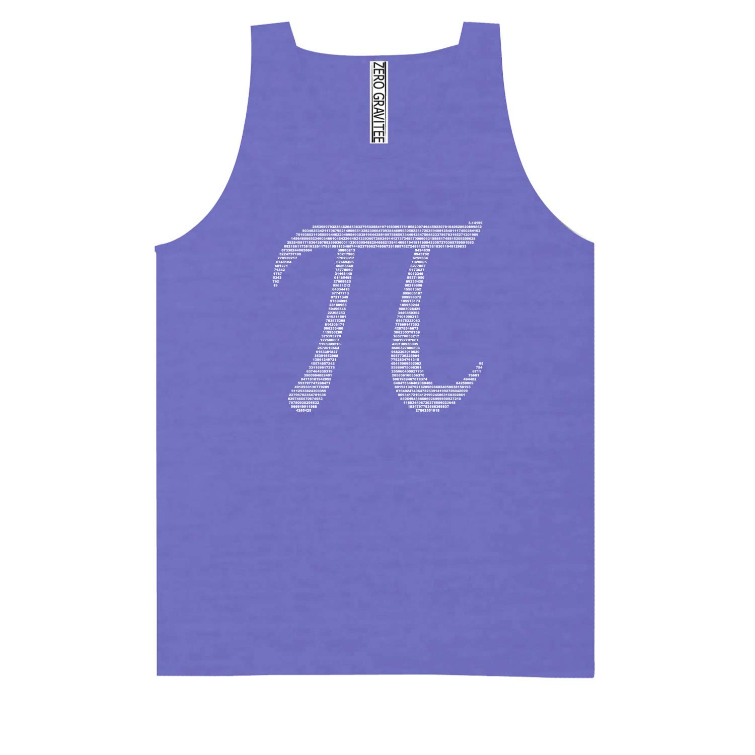 Pi Adult Pigment Dye Tank Top