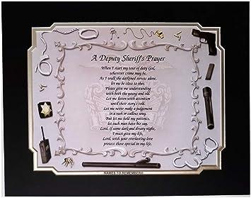 Sheriff adjunto de la oración Idea de regalo para día del ...