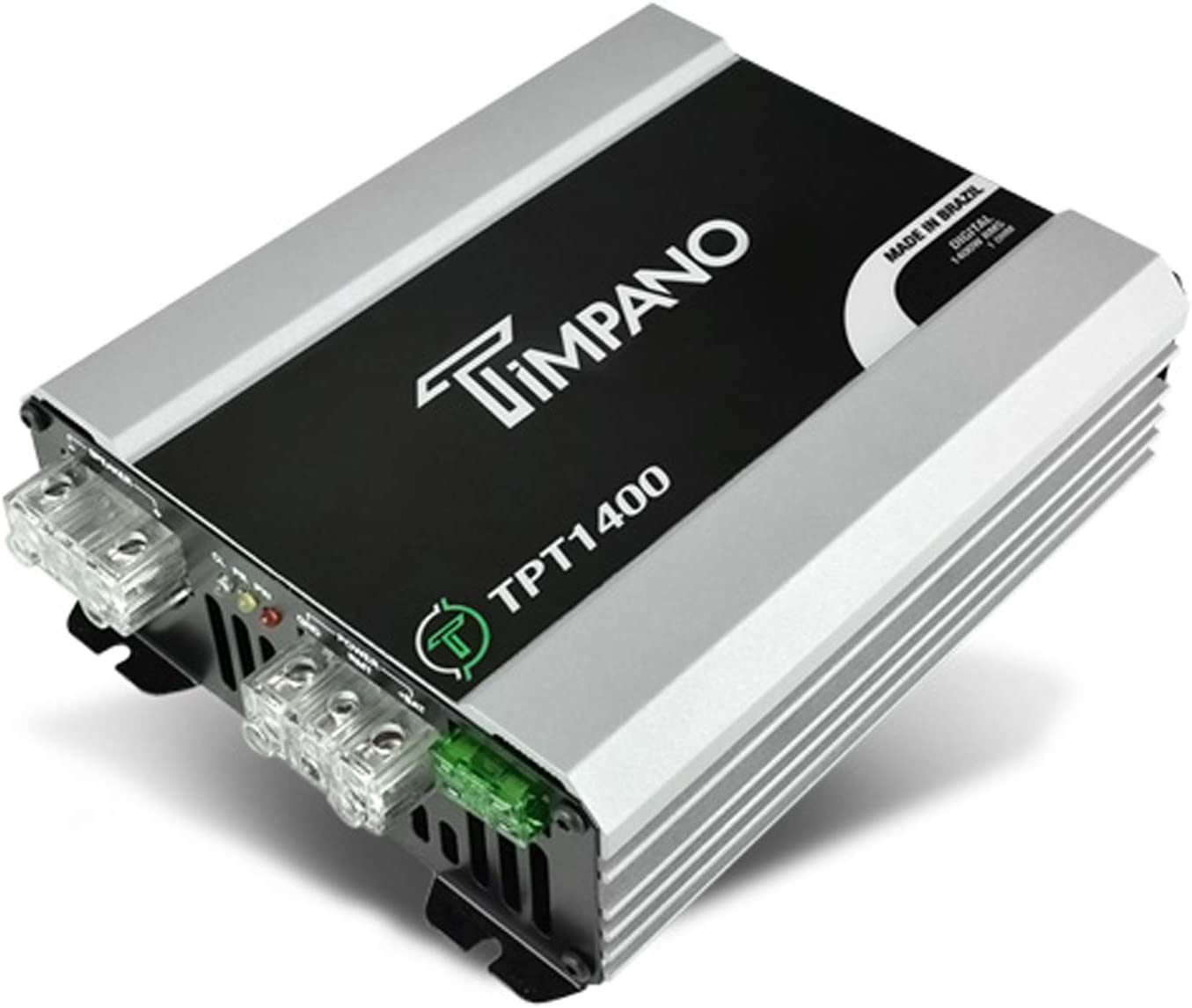 Timpano TPT-1400 2 Ohms 1400 Watts Full Range Car Audio Amplifier Class D Amp