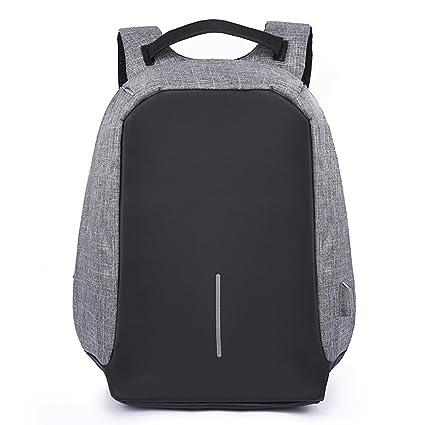 Mochila antirrobo macho Casual ordenador seguridad doble mochila negocios seguridad paquete