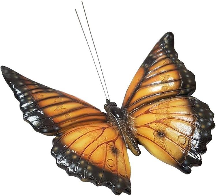 Vivid Arts, amis du jardin, papillon jaune/noir (BG-NBUT-F): Amazon.es: Jardín