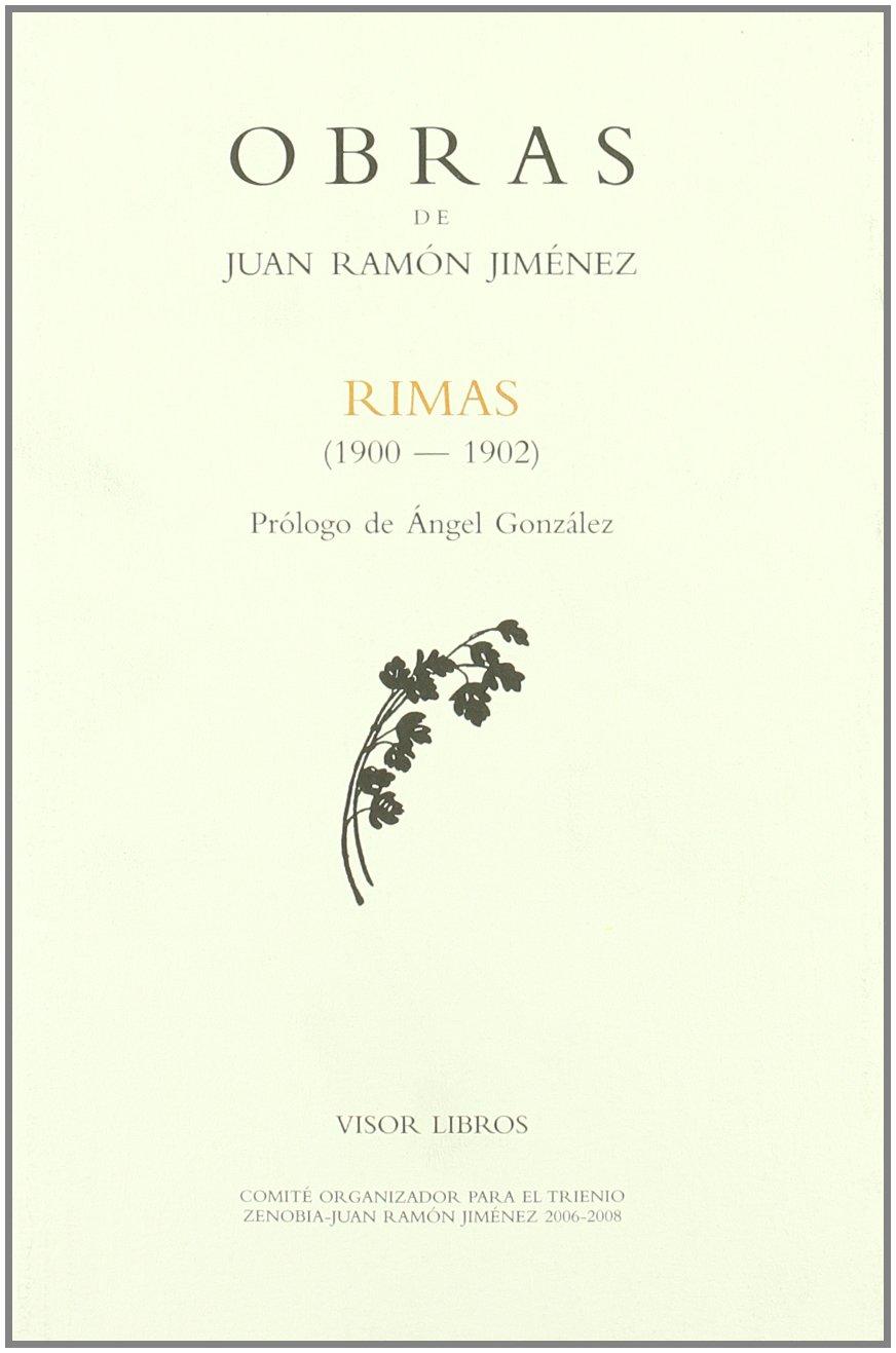 Rimas 1900 1902 Obras Juan Ramon Jimenez Amazon Es Jimenez Juan Ramon Libros