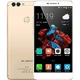 BLUBOO Dual - Smartphone 5.5 Zoll Android 6.0 Ohne Vertrag 4G FDD-LTE 2MP+13MP Dual-Hauptkameras 8MP Frontkamera 1.5 GHz Quad-Core 2GRAM + 16GROM Ultradünner Körper 3000mAh Dual-SIM