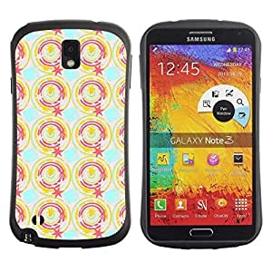 Travers-Diy FlareStar Colorful Printing cute pattern Slim Fit protective case cover for SAMSUNG Galaxy Note 3 III / N9000 KYYWij5eHZr / N9005