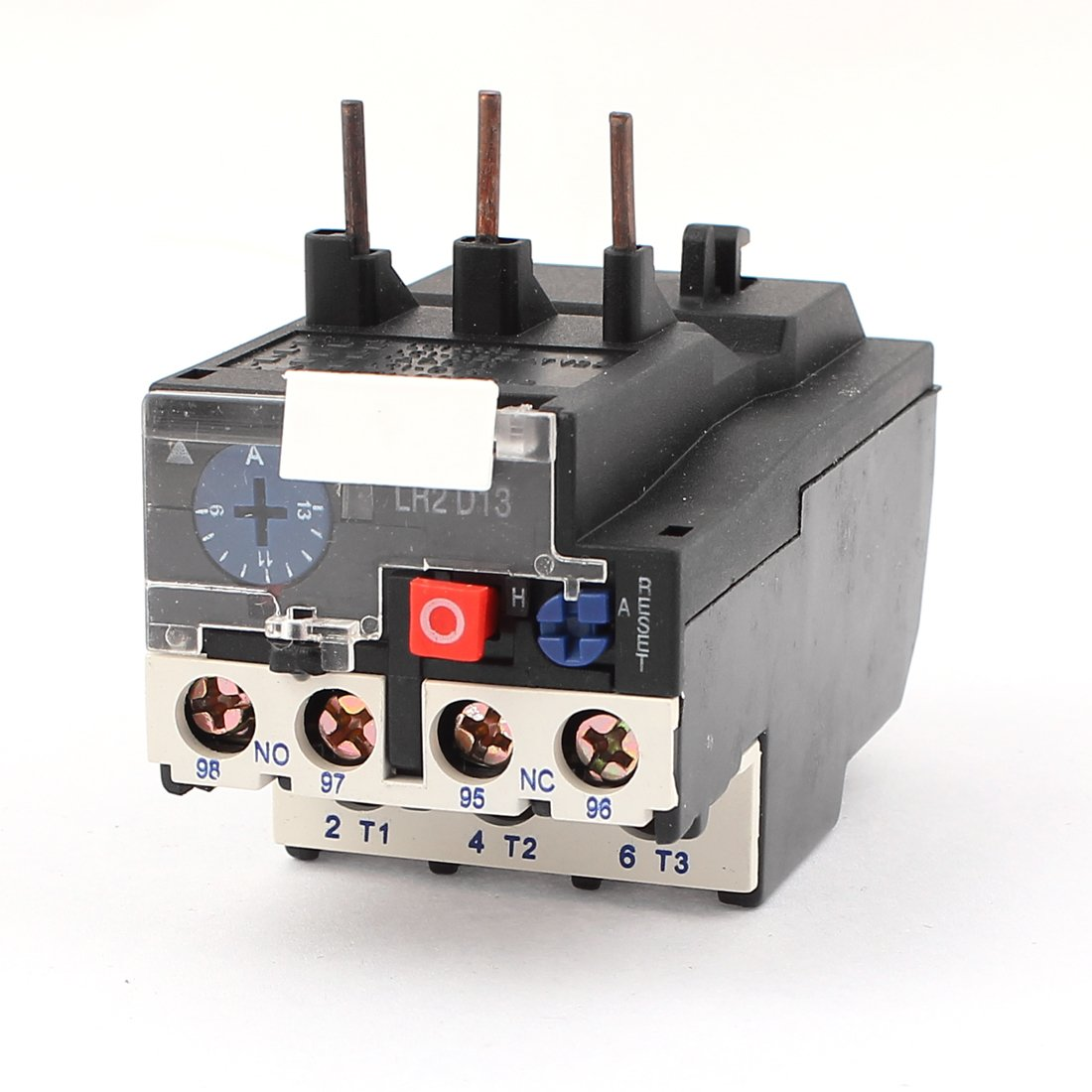 JR28-25 13A 1NO 1NC 3 Phases Adjustable Motor Protector Thermal Overload Relay
