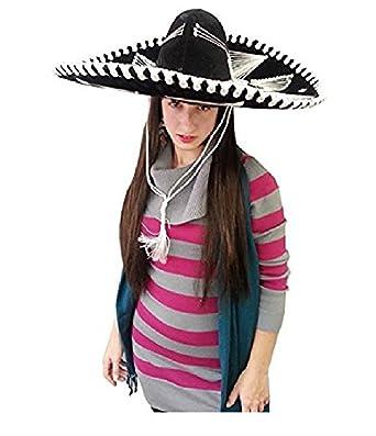 Adult Mariachi Hat Black