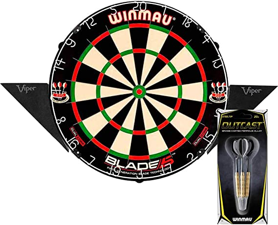 Pack Diana winmau Blade 5 Dual Core con Soporte & Dardos: Amazon.es: Deportes y aire libre