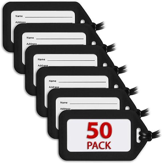 MIFFLIN Luggage Tags (Black