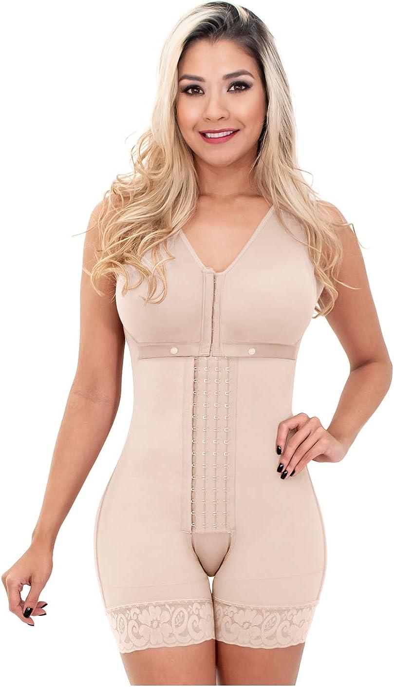 Sonryse 086BF Fajas Colombianas Reductoras Post Surgery Shapewear Women Bodysuit