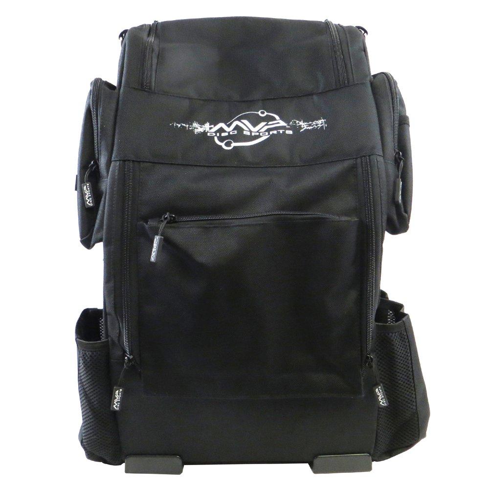 MVP Disc Sports Voyager Backpack Disc Golf Bag - Black by MVP Disc Sports