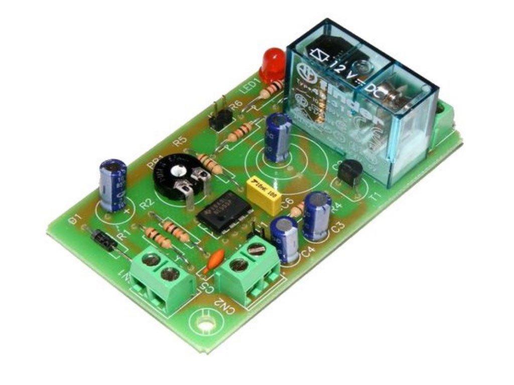 CEBEK - Kit Temporizador Universal A 12 V. De 1 Segundo A 3 Minuto (Alimentació n No Incluida) I-1