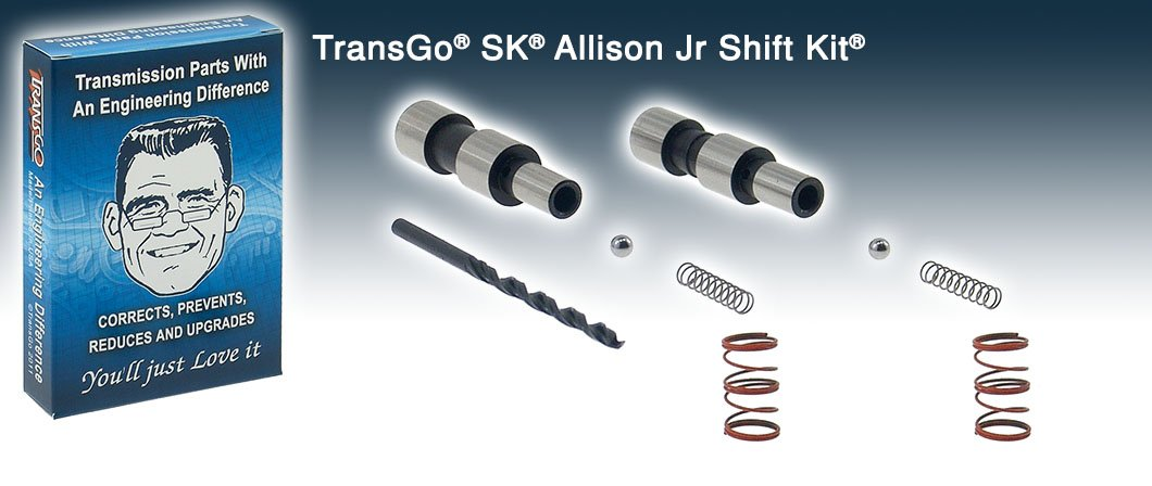 Transmission kit 2005-2010 6 Speed Allison 1000-2400 series. Duramax Diesel Chevrolet, GMC Diesel/Gas Trucks Heavy Duty, Street, Show & Competition. For 5 Speed Allison use Allison SK. Ford and Lincoln Mercury