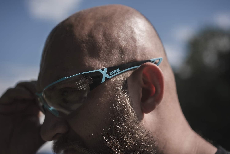 Oculaire PC Incolore Lunettes de Protection uvex Pheos CX 2 Retail Protection anti-UV400 Produits Chimiques L/égeres R/ésistantes aux Rayures Lentilles Antibu/ée Certifi/ées NF en 166 170