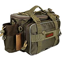 Goture Fishing Tackle Bag Multifunctional Lure Waist Pack Waterproof Soft Sided Waist Shoulder Carry Storage for Fishing Climbing Hiking Traveling