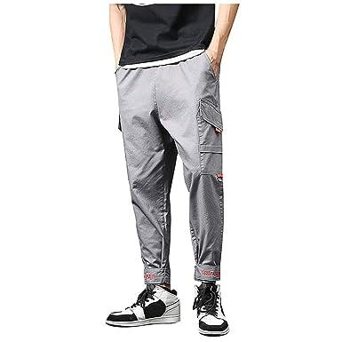 NUSGEAR VPASS Pantalones para Hombre, Casuales Moda Trabajo ...
