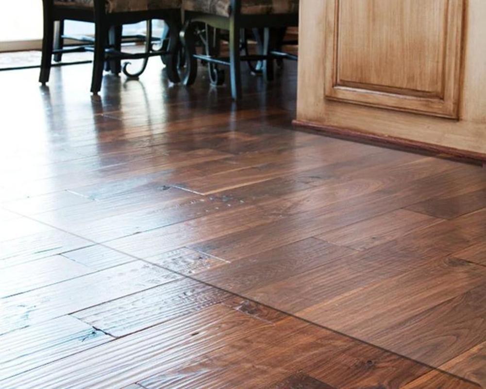 Alfombras de pvc alfombra mat impermeable antideslizante alfombra 105x105cm(41x41inch) de piso transparente-C 105x105cm(41x41inch) alfombra 883685