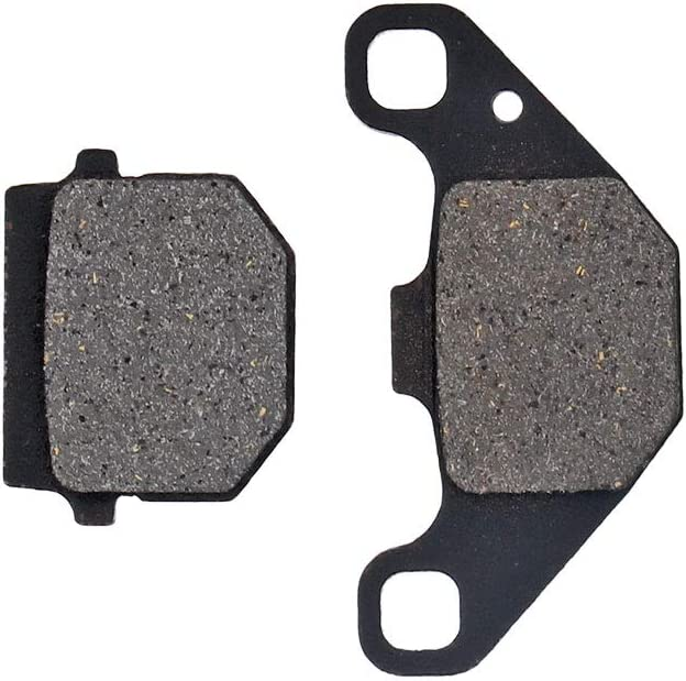 Parts NICHE Brake Pad Kit for Yamaha Grizzly 300 1SC-F5805-00 1SC ...