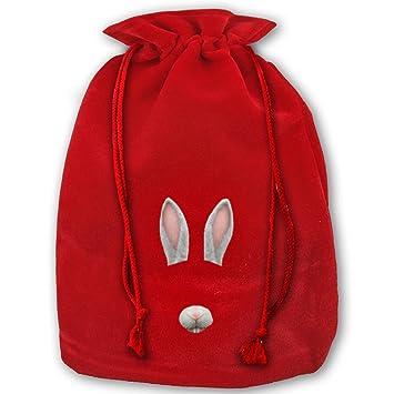 5687 snapchat filter flower tears pattern canvas christmas bag for kids christmas gift bag santa