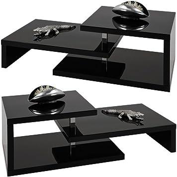 Amazing venta # diseño moderno cuadrado negro brillante mueble para televisor/mesa de café # marca nueva: Amazon.es: Electrónica