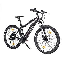 Fitifito MT27,5/MT27,5 Plus Elektrofahrrad Mountainbike E-Bike Pedelec 36V 13Ah 468Wh LG /36V 14.5Ah 522W Samsung Cells Lithium-Ionen USB, 36V 250W Heckmotor