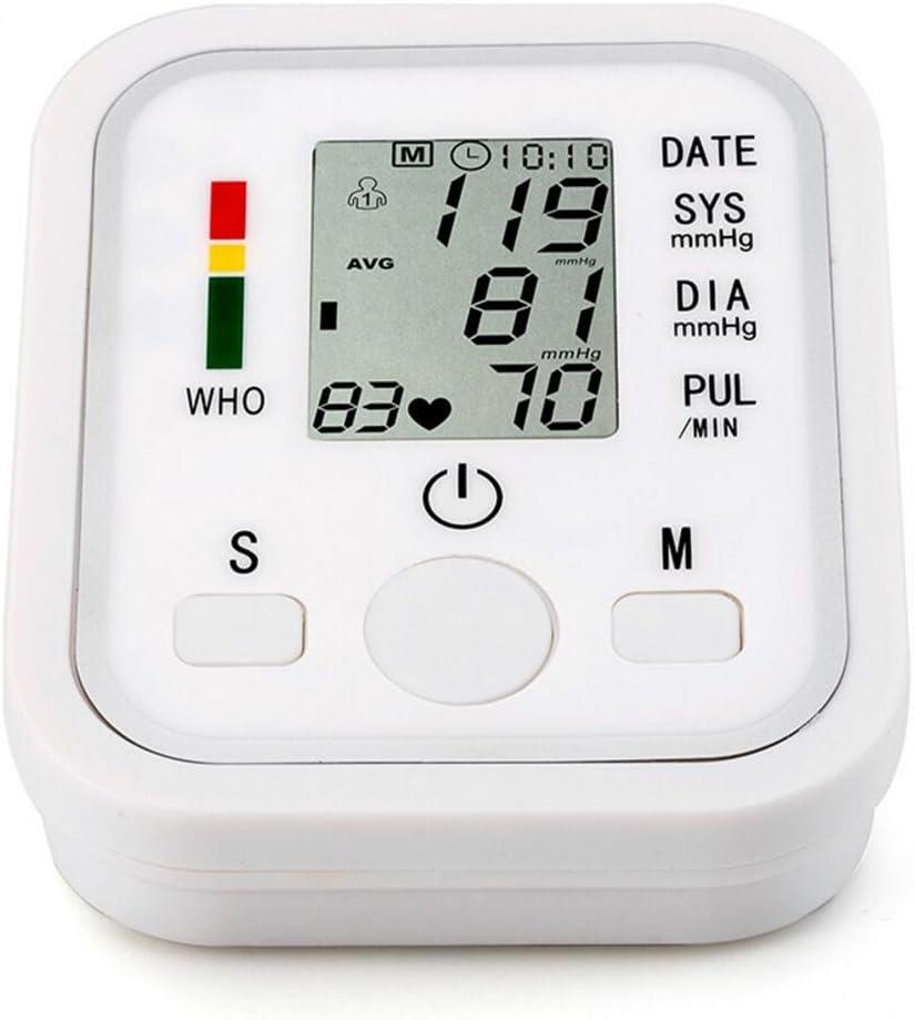 LQUIDE Arm Blood Pressure Monitor,Heart Beat Meter Machine, Digital Lcd Sphygmomanometer,Home Health Care
