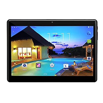 Amazon.com: Tablet 10 Inch 2.5D Tempered Glass HD Display ...