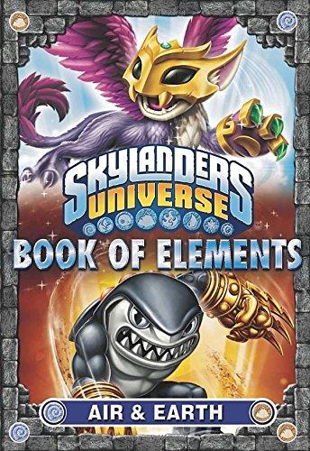 Book of Elements: Air & Earth (Skylanders Universe) -
