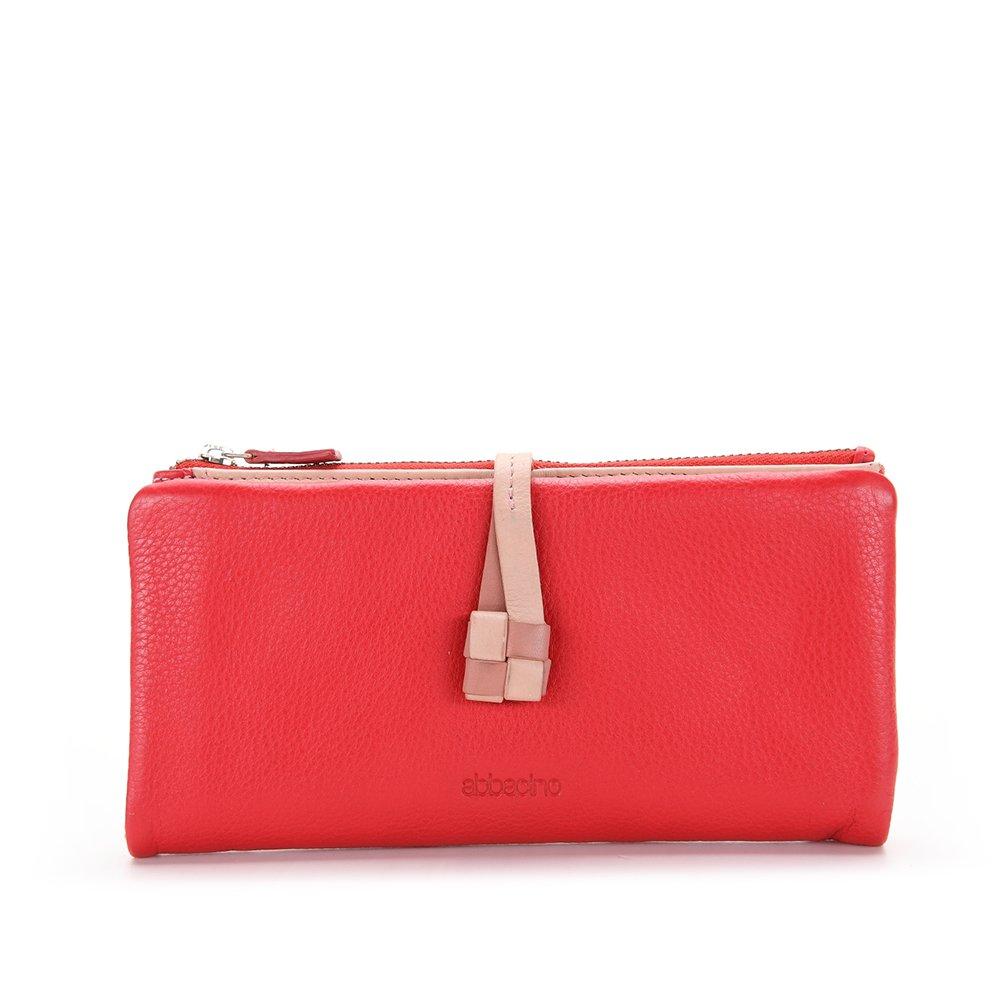 Abbacino 70000, Cartera para Mujer, Rojo (Red), 10x3x20 cm ...